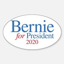 Bernie 2020 Sticker (Oval)