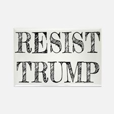Resist Trump Liberal Rectangle Magnet