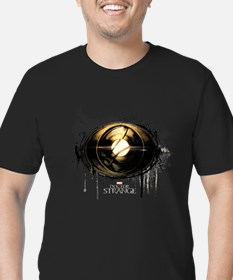 Doctor Strange Eye of Men's Fitted T-Shirt (dark)