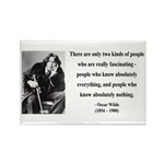 Oscar Wilde 22 Rectangle Magnet (10 pack)