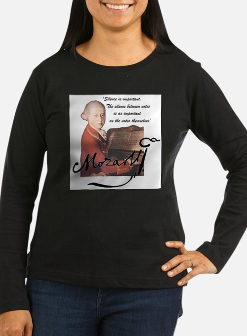 Mozart at the piano Long Sleeve T-Shirt