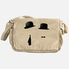 Cute Laurel and hardy Messenger Bag