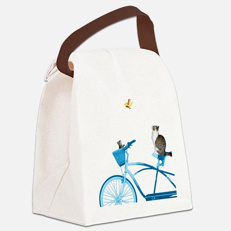 Cute Comedy Canvas Lunch Bag