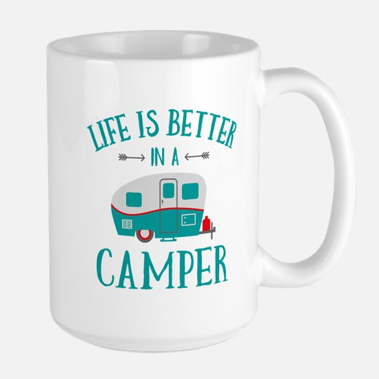 Life's Better Camper Large Mug