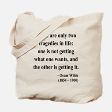 Oscar Wilde 23 Tote Bag
