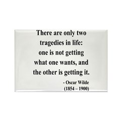 Oscar Wilde 23 Rectangle Magnet