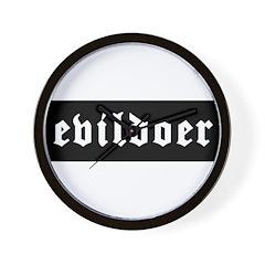 Evildoer! Wall Clock
