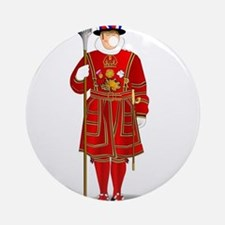 Beefeater Round Ornament