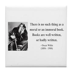 Oscar Wilde 24 Tile Coaster