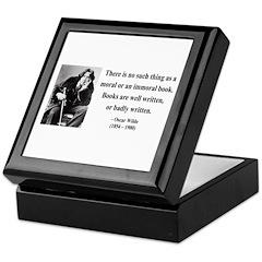 Oscar Wilde 24 Keepsake Box