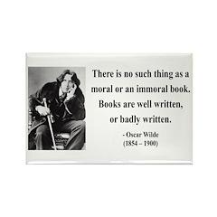 Oscar Wilde 24 Rectangle Magnet (100 pack)