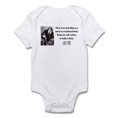 Oscar Wilde 24 Infant Bodysuit