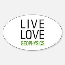 Live Love Geophysics Decal