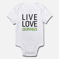 Live Love Geophysics Infant Bodysuit
