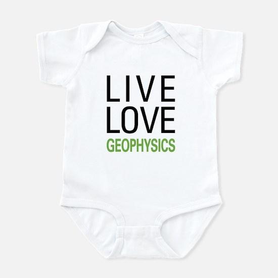 Live Love Geophysics Infant Bodysuit