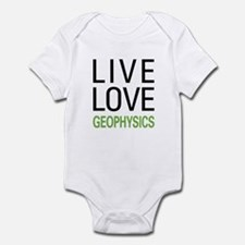 Live Love Geophysics Onesie