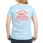 HELLRAISER's LITTLE SISTERS Women's Pink T-Shirt