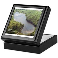 Hatch Pond - Aerial Keepsake Box