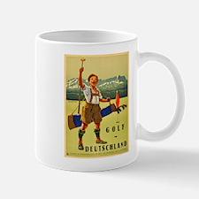Vintage poster - Golf in Deutschland Mugs