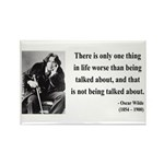 Oscar Wilde 25 Rectangle Magnet (100 pack)