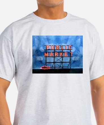 Pikes Place Market Seattle T-Shirt