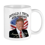 Donald president Small Mugs (11 oz)