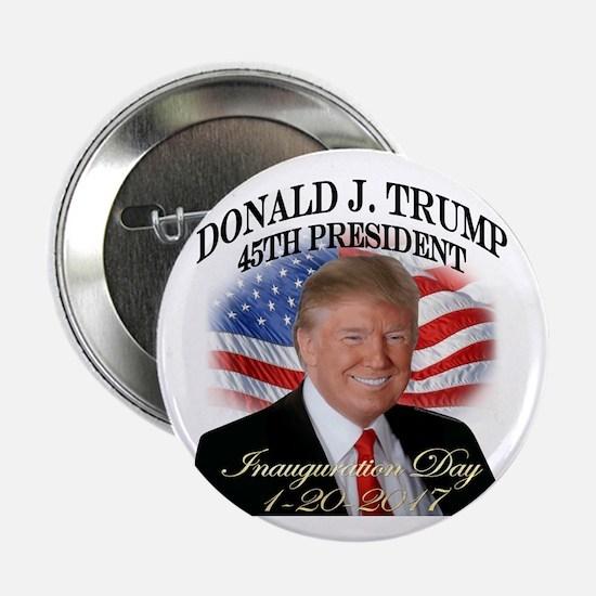 """Trump Inauguration Smile 2.25"""" Button"""