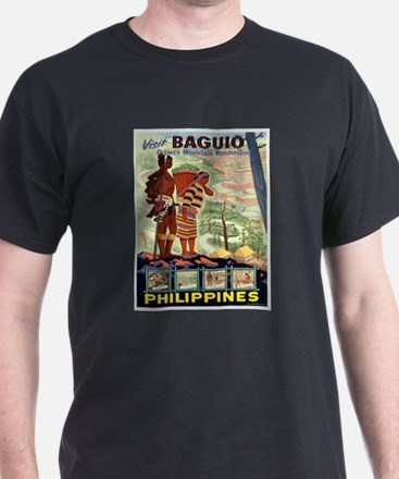 Vintage poster - Philippines T-Shirt