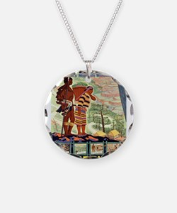 Vintage poster - Philippines Necklace