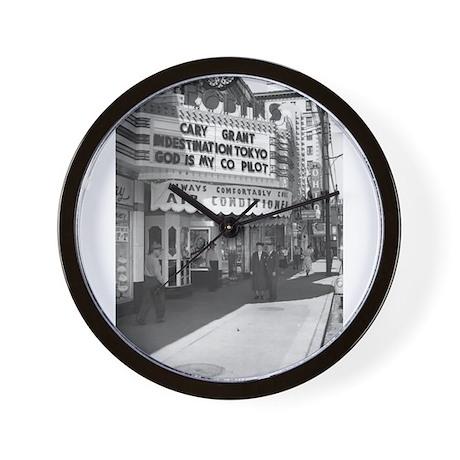 Warren, Ohio Robins Theater Wall Clock