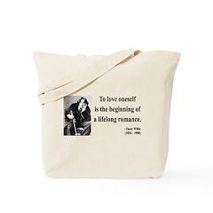 Oscar Wilde 26 Tote Bag