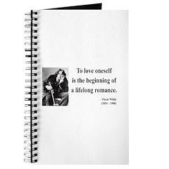 Oscar Wilde 26 Journal