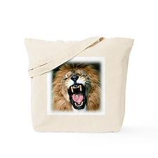 Roaring Lion Tote Bag