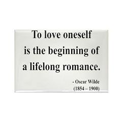 Oscar Wilde 26 Rectangle Magnet (100 pack)