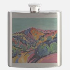 New Mexico Art Flask