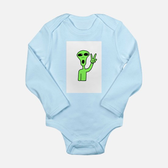 Peace Alien Body Suit
