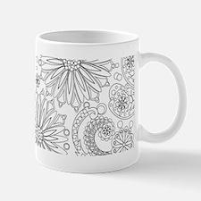 Flower Garden Galaxy Mugs