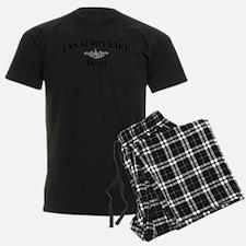 slake black letters Pajamas