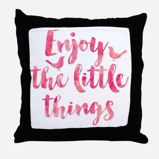 Unique Inspirational quote Throw Pillow