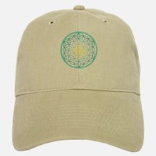 Flower of Life - Aqua Baseball Baseball Cap