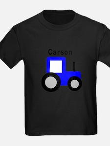 Carson - Blue Tractor T-Shirt