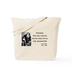 Oscar Wilde 28 Tote Bag