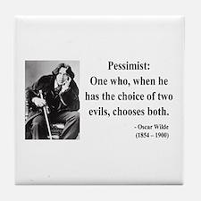 Oscar Wilde 28 Tile Coaster