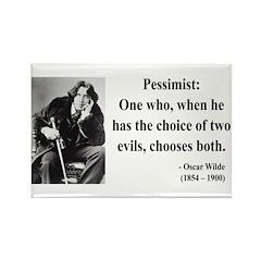 Oscar Wilde 28 Rectangle Magnet (10 pack)