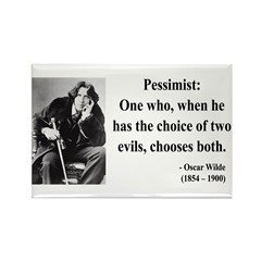 Oscar Wilde 28 Rectangle Magnet (100 pack)