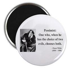 Oscar Wilde 28 Magnet