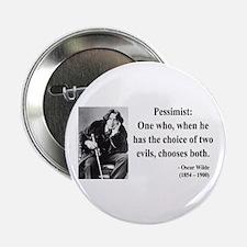 """Oscar Wilde 28 2.25"""" Button"""