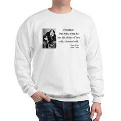 Oscar Wilde 28 Sweatshirt