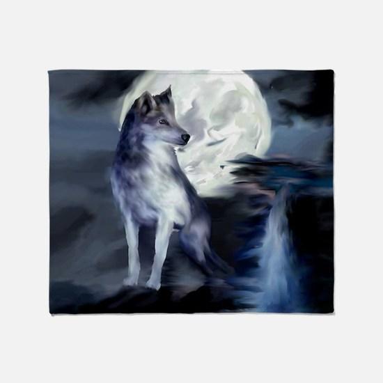 Unique Wolf Throw Blanket