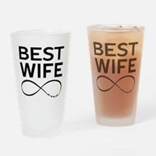 BEST WIFE EVER LIMITLESS Drinking Glass